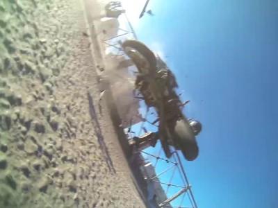 Не пропустил мотоцикл при выезде со двора