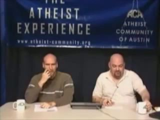 Смешной звонок на передачу атеистам (США)