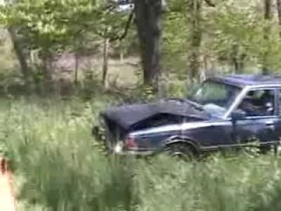 Toyota, простоявшая 7 лет в лесу