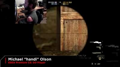 """Игрок в CS """"Handi"""" (в жизни Майкл Олсон)"""