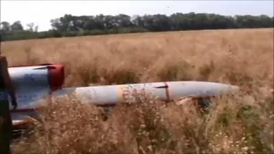 Бойцы подразделения Мотороллы сбили украинского летающего монстра