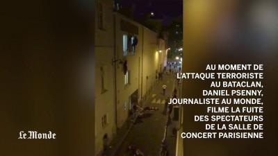 Images de la fusillade au Bataclan