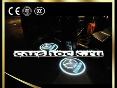 Светодиодная проекция логотипа авто