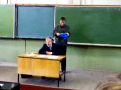 Студент, профессор и пакет