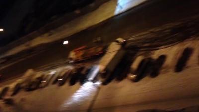 Ночная эвакуация автомобилей в Красноярске