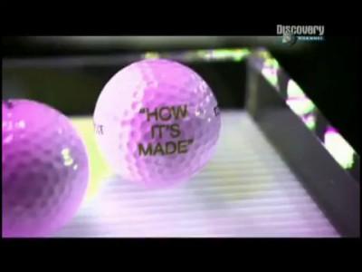 Мячи для гольфа , делают так !!!