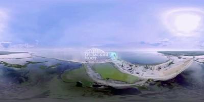 Соединяем берега: как будет выглядеть Крымский мост через Керченский пролив (ВИДЕО 360)