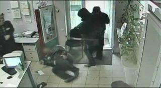 Ограбление банка в Донецке