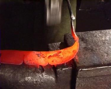 Изготовление розы из железного прута