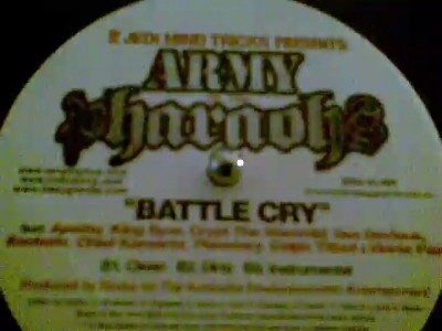 ARMY OF THE PHARAOHS - BATTLE CRY (INSTRUMENTAL)