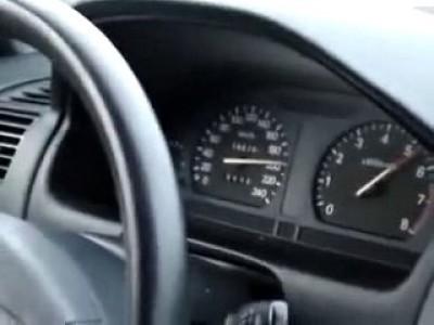 Авария на скорости 210 км/ч