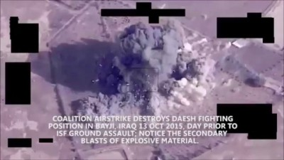 US-Led Coalition strikes In Iraq