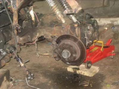 Мотоцикл из двигателя от 2108