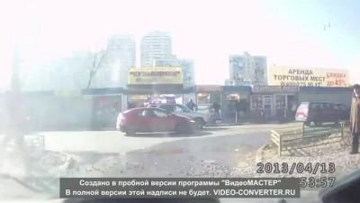 Казанские отморозки на дороге