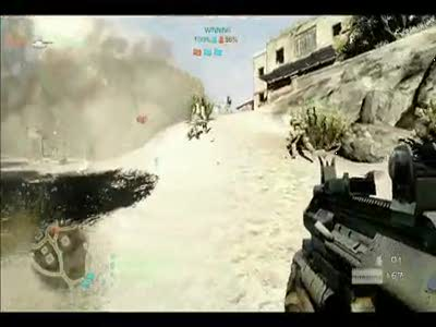 Battlefield Bad company 2. Anberlin - The Feel Good Drag. Music video.
