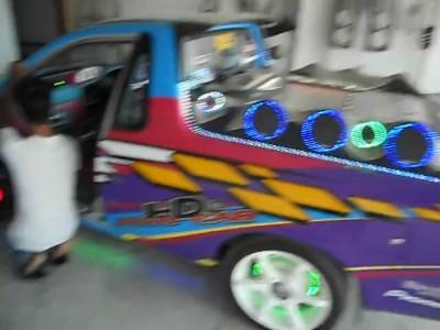 Тайский тюнинг автомобилей