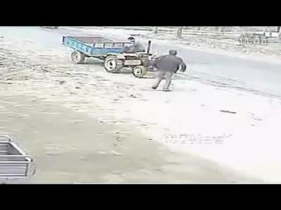 Трактор - Неуправляемый снаряд