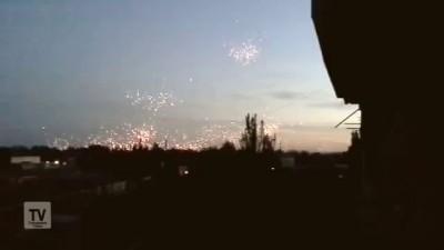 Донецк обстрел фосфорными снарядами украинскими карателями 29.07.2014