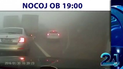 Fog pileup of 70 vehicles kils 4, injures 30 in Slovenia