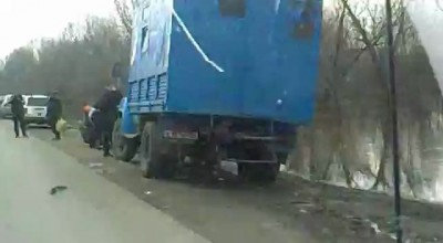 Паводок 2012. Пензенская область, г. Нижний Ломов