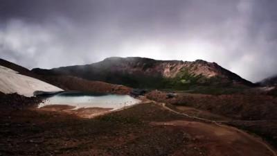 Гора Онтаке второй по величине вулкан в Японии Mount Ontake second largest volcano in Japan