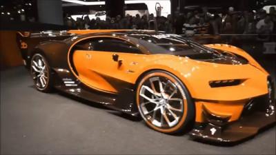 COLOR CHANGING (FULL-VERSION) Bugatti ''Vision Gran Turismo'' 8.0 W16 1500 Hp 463 Km
