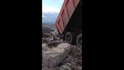 Отвал мусора 13.12.2013. 55 дней до Олимпиады