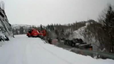 Происшествие в Норвегии 01.04.2012