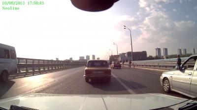 2. Авария на мосту через Волгу