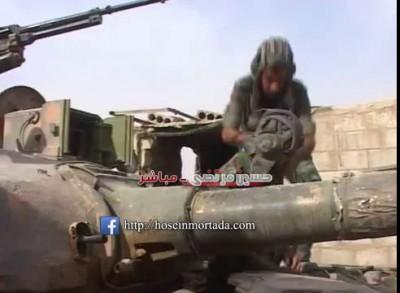 حسين مرتضى - بالفيديو قتلى داعش في محيط مطار دير الزور العسكري 26-10-2015