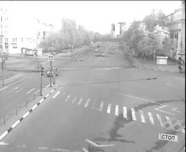 Взрыв из осколков стекла! ДТП Октября/Ленина 08.05.16.