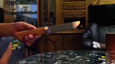 Самодельный нож или второй блин не комом