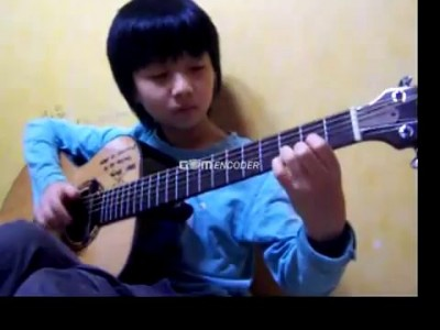 extreme more than words niño prodigio en la guitarra.flv
