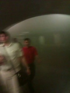 Пожар в метро станция метро Охотный ряд 05.06.2013