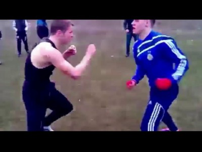 Бокс на первом