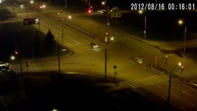 16.08.2012 00:16 ДТП на пересечении улиц 9 мая и Авиаторов