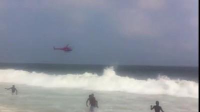 Авария спасательного вертолёта