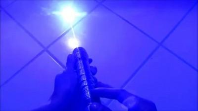 Самодельный световой меч джедая