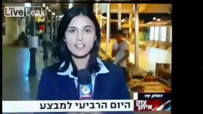Стриптиз во время эфира TV-Israel.