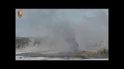 ALERT! Yellowstone Super Volcano Smoke Black! then goes White 1/15/2015