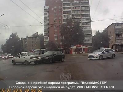 ДТП лансер Йошкар-Ола, перекресток Панфилова - Первомайская