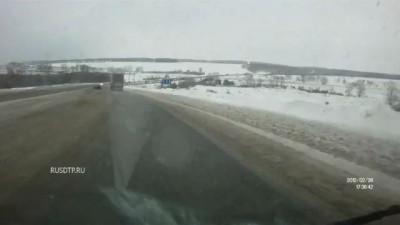 Авария на трассе М-7
