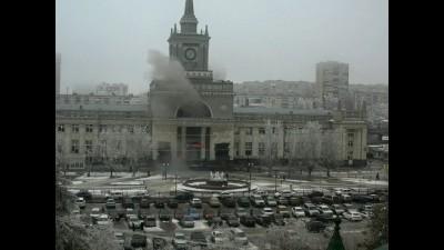 Взрыв в Волгограде (видео)