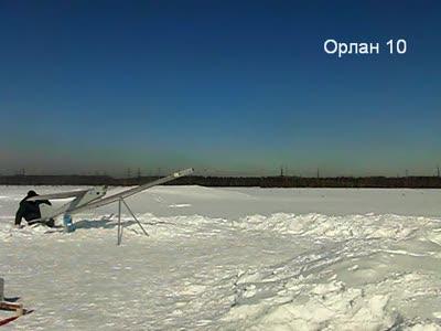 """Замедленный пуск БПЛА """"Орлан-10"""""""