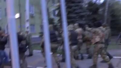 Краматорск захват райотдела МВД