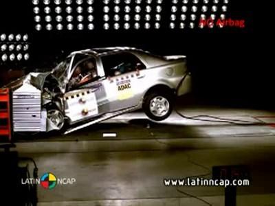 Краш-тест китайского авто