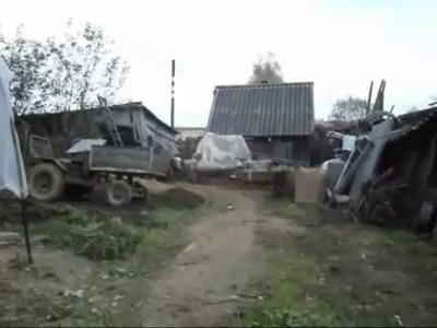 Мотоблок - Колхозный монстр ..)) шагоход