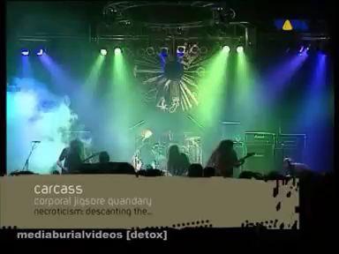 Carcass - Corporeal Jigsore Quandary