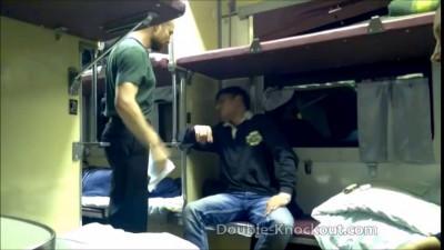 Стетхем наказал пьяного пассажира в поезде