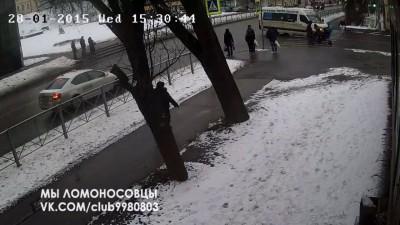 Водитель 343 маршрутки сбил ребёнка на Дворцовом